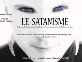 Flyers-satanisme